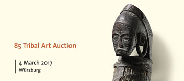 Invitation to the tribal art Auction on March, 4th, 2017 at Zemanek-Münster